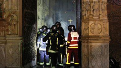 Photo of Հրդեհից հետո հրապարակվում են առաջին լուսանկարները Փարիզի Աստվածամոր տաճարից