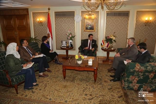 Photo of Высоко оценено сотрудничество между Арменией и Египтом в сфере высшего образования