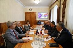 Photo of ՀՀ ոստիկանության պետն ընդունել է Հայաստանում ԵՄ պատվիրակության ղեկավարին