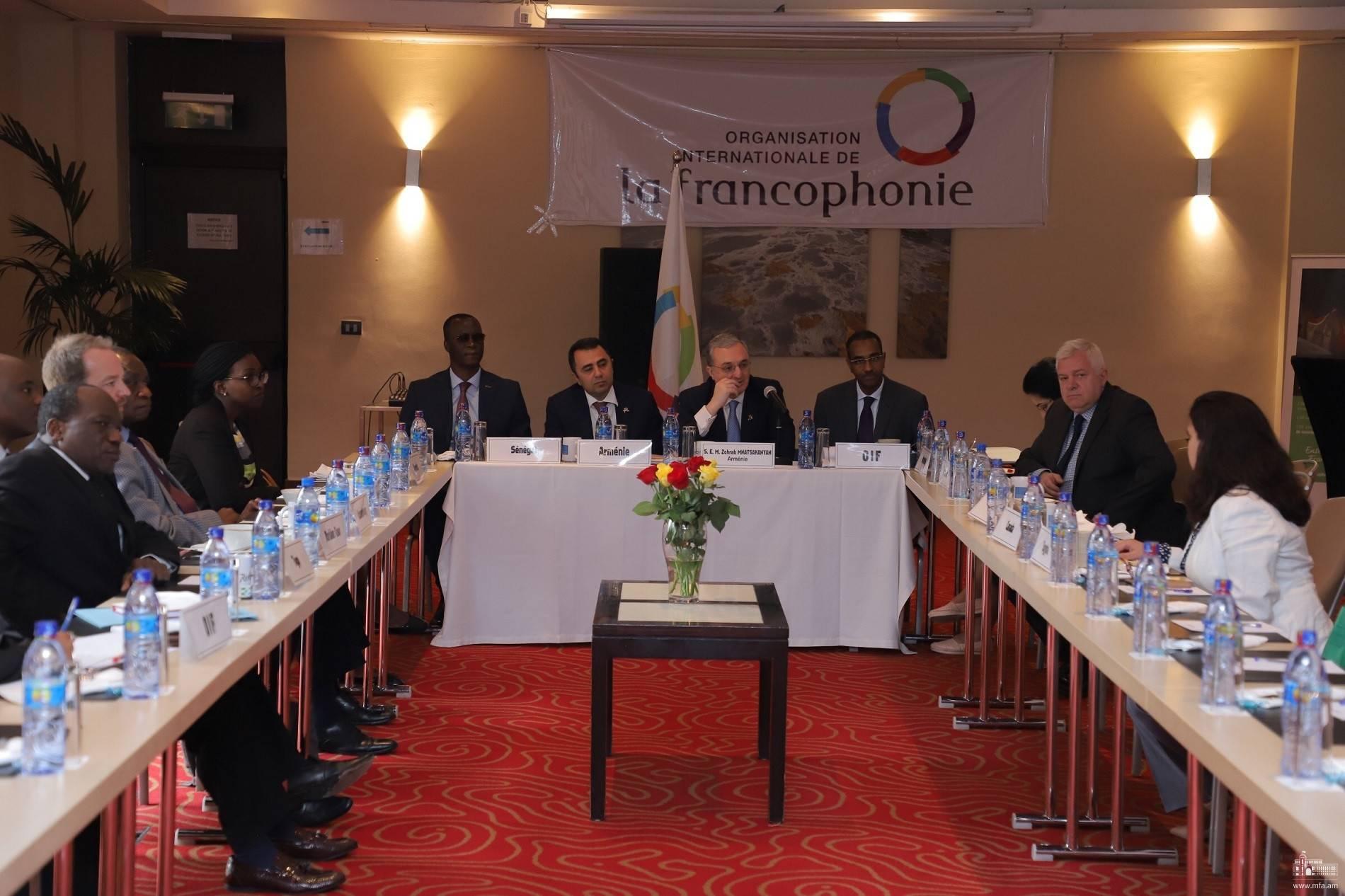 Photo of Զոհրաբ Մնացականյանը հանդիպեց Եթովպիայում հավատարմագրված ֆրանկոֆոն երկրների դեսպանների հետ
