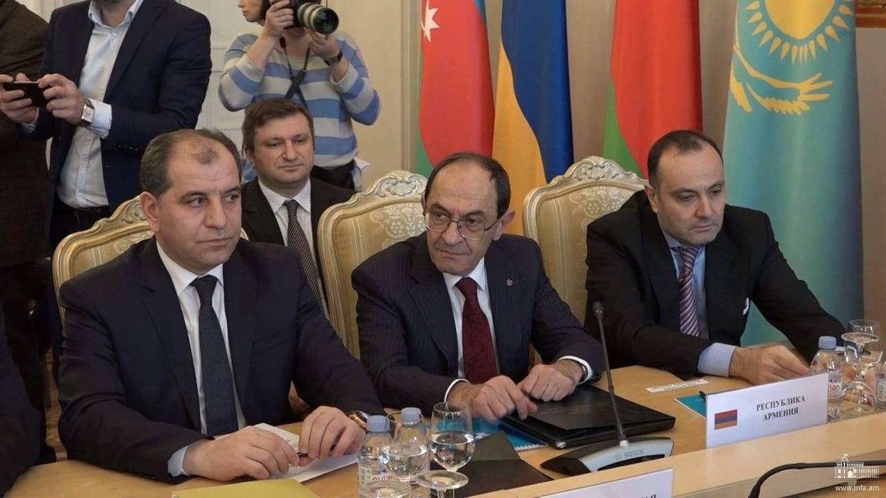 Photo of Մոսկվայում տեղի ունեցավ Անկախ պետությունների համագործակցության արտաքին գործերի նախարարների խորհրդի նիստը