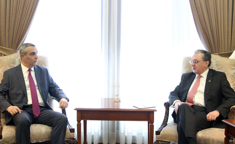 Photo of Հայաստանի և Արցախի արտաքին քաղաքական գերատեսչությունների ղեկավարների հանդիպումը