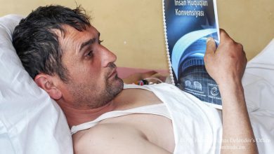 Photo of В Медицинском центре «Эребуни» из желудка нарушителя границы Арифа оглу Ибрагимова было удалено инородное тело