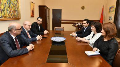 Photo of Աննա Հակոբյանը հյուրընկալել է Ամերիկայի հայ իրավաբանների միության  կառավարման խորհրդի ներկայացուցիչներին
