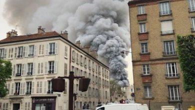 Photo of В Версале произошел сильный пожар