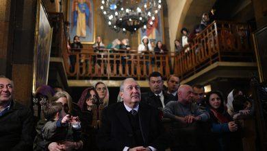 Photo of Նախագահ Սարգսյանը ներկա է գտնվել Սուրբ Զատկի ճրագալույցի պատարագին