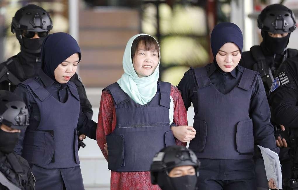 Photo of В Малайзии вынесен приговор гражданке Вьетнама за смерть Ким Чен Нама