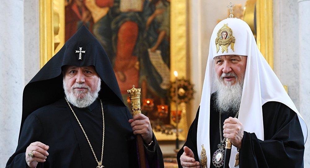 Photo of Մոսկվայում տեղի է ունեցել Ամենայն Հայոց Կաթողիկոսի ու Մոսկվայի և Համայն Ռուսիո Պատրիարքի հանդիպումը