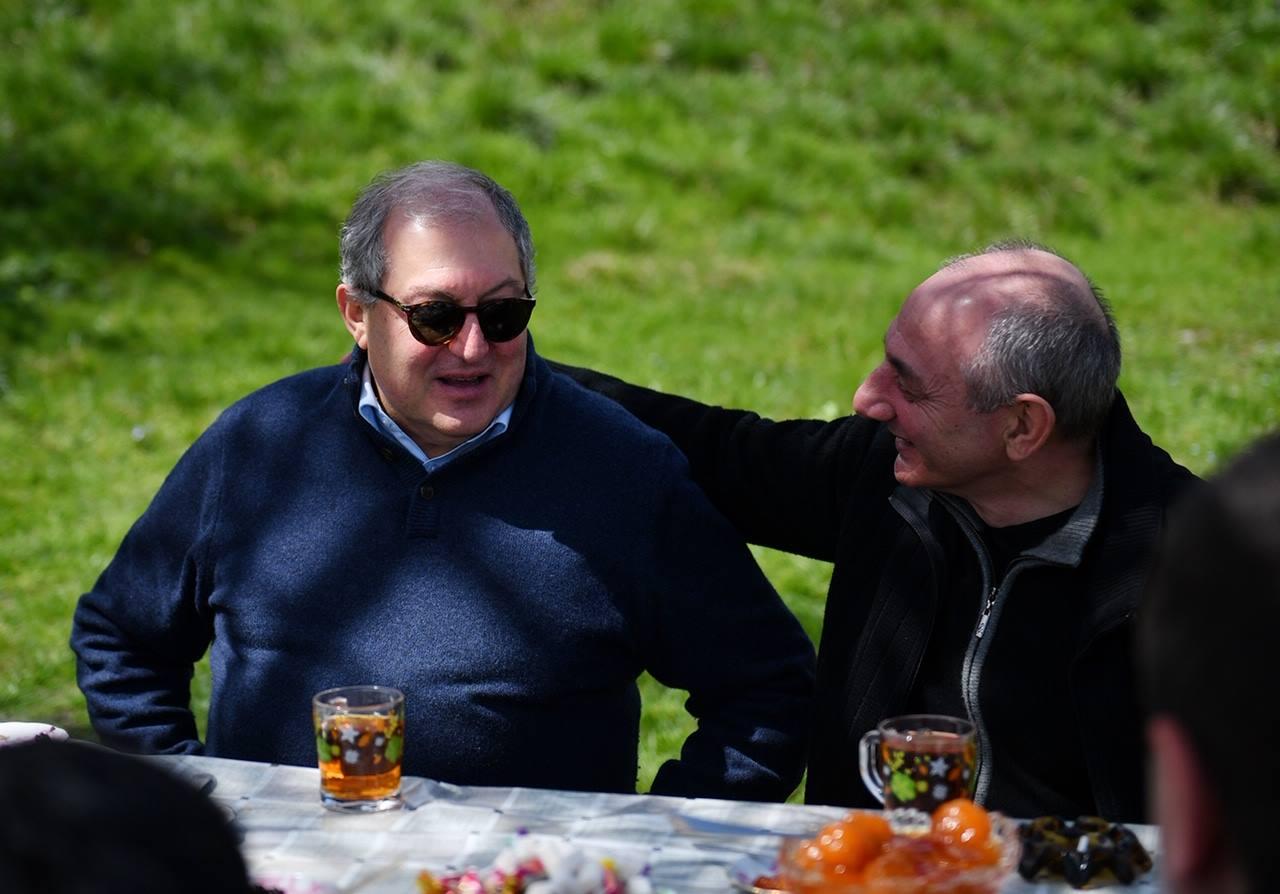 Photo of Արմեն Սարգսյանը և Բակո Սահակյանը՝ Հադրութում․ ֆեյսբուքյան էջում լուսանկար է հրապարակվել
