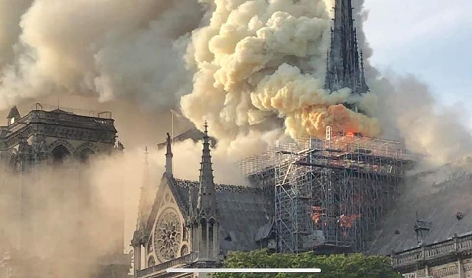Photo of Փլվել է Փարիզի Աստվածամոր տաճարի գմբեթը