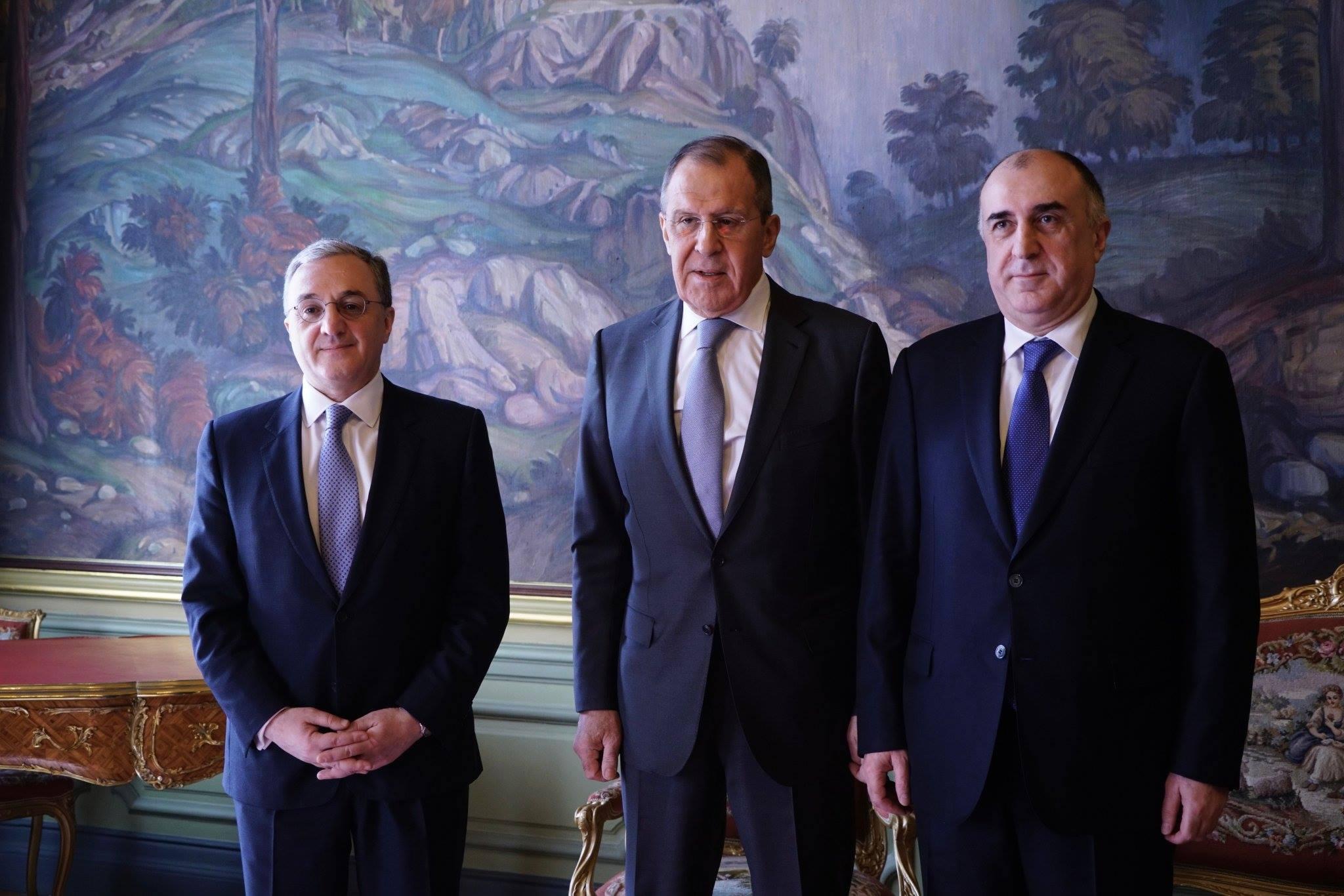 Photo of Մոսկվայում մեկնարկել է Հայաստանի, Ադրբեջանի և Ռուսաստանի ԱԳ նախարարների հանդիպումը. ԱԳՆ