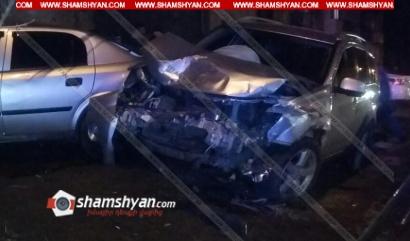 Photo of Ավտովթար Լոռու մարզում. Վանաձորում բախվել են Mitsubishi-ն ու Opel-ը. կա վիրավոր