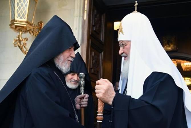 Photo of Гарегин II попросил посредничества патриарха Кирилла в освобождении осужденного в Азербайджане Карена Казаряна