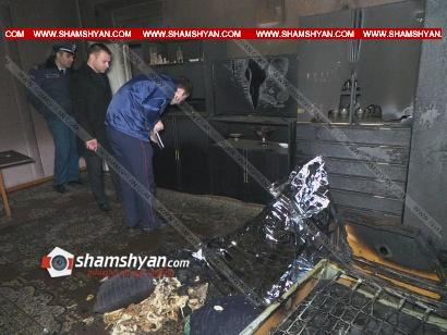 Photo of Թալին քաղաքի տներից մեկում հրդեհ է բռնկվել. կա մեկ զոհ