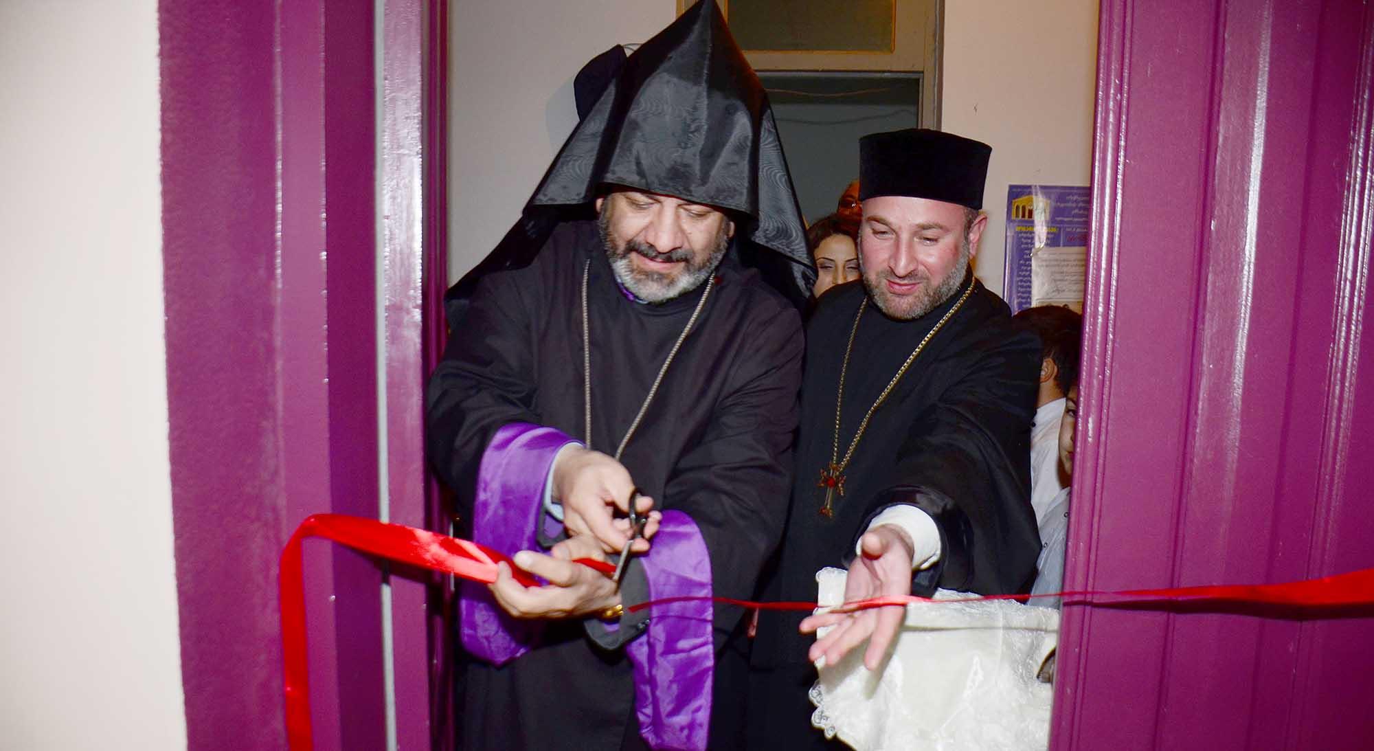 Photo of Վրաստանի Օզուրգեթի քաղաքում բացվեց Կոմիտաս վարդապետի անվան կենտրոն