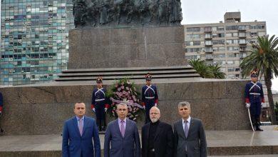Photo of Делегация Арцаха в Уругвае приняла участие в мероприятиях, посвященных 104-ой годовщине  геноцида армян