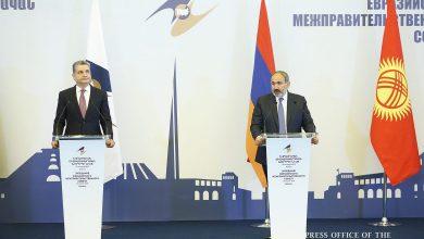 Photo of Նիկոլ Փաշինյանը և Տիգրան Սարգսյանը ԵԱՏՄ միջկառավարական խորհրդի նիստից հետո հանդես են եկել մամուլի համատեղ ասուլիսով