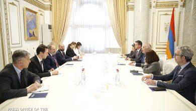 Photo of Премьер-министр Пашинян принял первого заместителя мэра Лиона Жоржа Кепенекяна