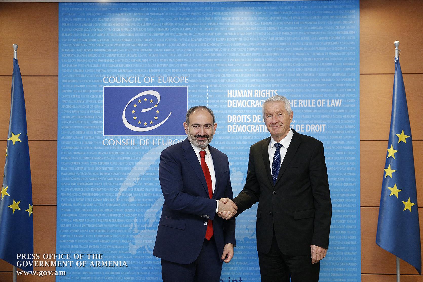 Photo of Совет Европы продолжает поддерживать Армению на пути демократического развития: Турбьёрн Ягланд Николу Пашиняну