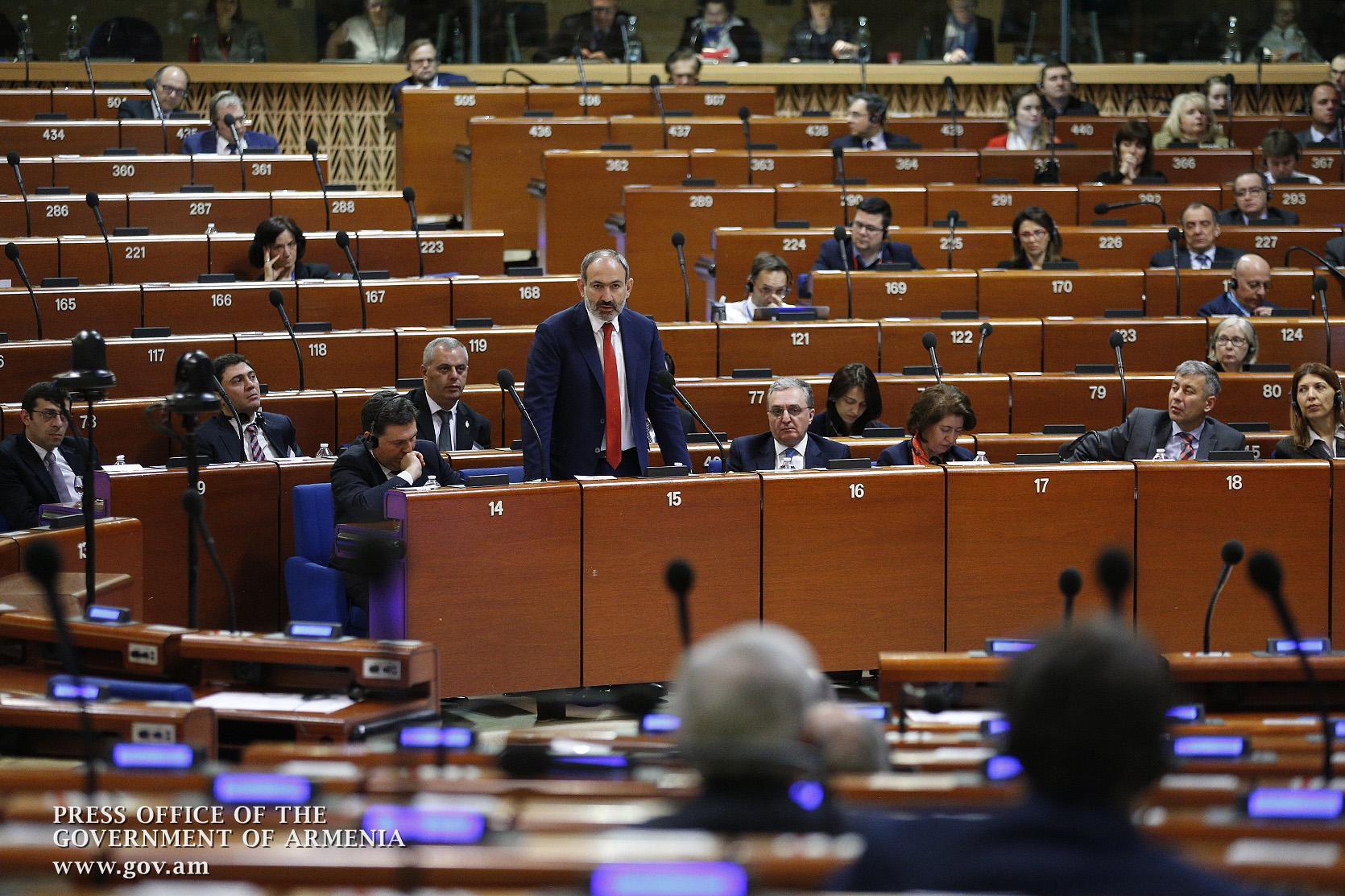 Photo of Ответы Пашиняна в ПАСЕ, в том числе азербайджанским делегатам