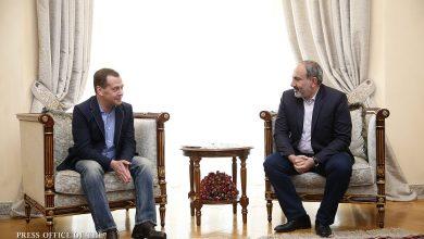 Photo of Состоялась встреча премьер-министра Никола Пашиняна и председателя правительства РФ Дмитрия Медведева
