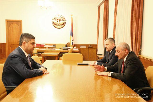 Photo of Встреча с директором СНБ Армении Артуром Ванецяном