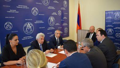 Photo of Բարձրագույն դատական խորհրդի նախագահն ընդունել է  Չեխիայի հանրապետության խորհրդարանականներից կազմված պատվիրակությանը