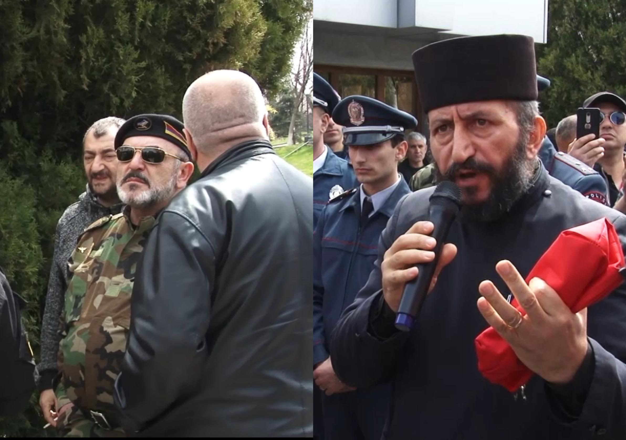 Photo of Բողոքի ակցիա՝ ընդդեմ ԱԺ-ում տրանսգենդերի ելույթի