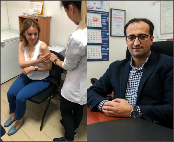 Photo of Կինս ստացավ մարդու պապիլոմավիրուսի պատվաստումը, ես նույնպես կստանամ. Արսեն Թորոսյան