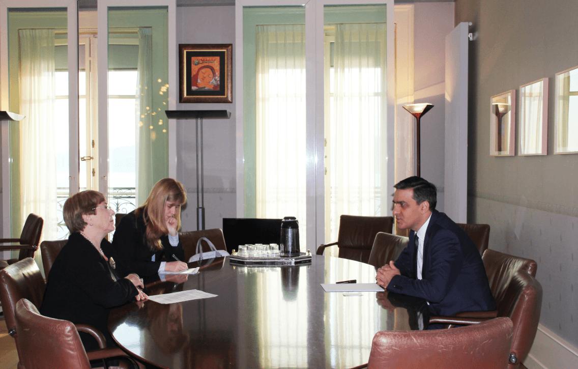 Photo of Մարդու իրավունքների գերագույն հանձնակատարը և Հայաստանի մարդու իրավունքների պաշտպանը Ժնևում քննարկել են համագործակցության հարցեր