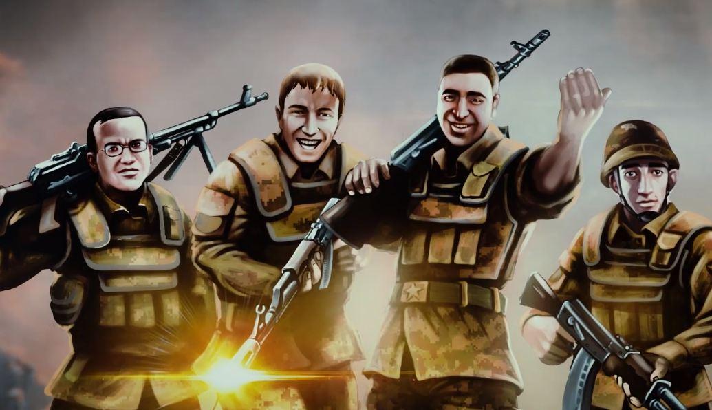 Photo of Անիմացիոն ֆիլմ՝ նվիրված Ապրիլյան քառօրյա պատերազմի հերոսներին
