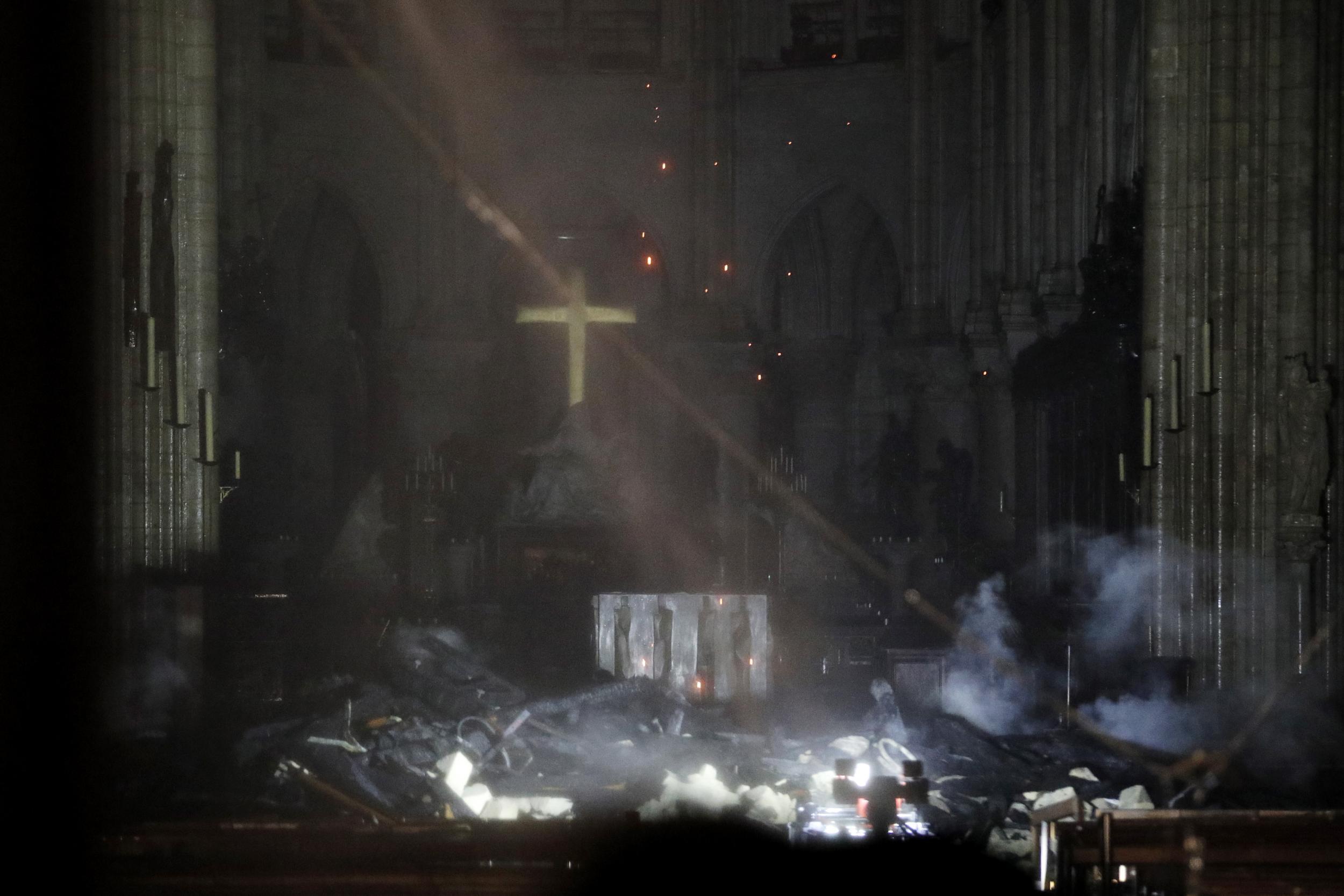 Photo of Փարիզի Աստվածամոր տաճարի հրդեհը մարվել է
