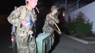 Photo of Գիշերային պայմաններում անծանոթ տեղանքում անցկացվել են զորավարժանքներ