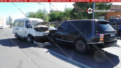Photo of Խոշոր ավտովթար Երևանում. Թբիլիսյան խճուղում բախվել են Range Rover-ը, Opel-ն ու Газель-ը. կան վիրավորներ