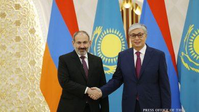 Photo of «Մենք մեծ հարգանք ենք տածում ձեր երկրի, ձեր ժողովրդի նկատմամբ, քաջատեղյակ ենք ձեր ժողովրդի պատմությանը». Ղազախստանի նախագահ