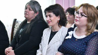 Photo of Աննա Հակոբյանն այցելել է Ապրիլյան հերոս Ժորա Եսայանի անվան դպրոց