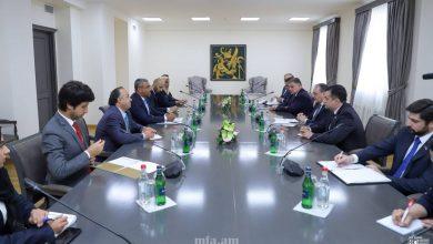 Photo of ԱԳ նախարար Զոհրաբ Մնացականյանի հանդիպումը Արաբական Միացյալ Էմիրությունների պետնախարար Ահմեդ Ալի Ալ-Սայեղի հետ