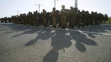 Photo of Ոստիկանության զորքերի հերթափոխը