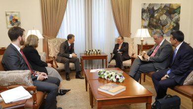 Photo of ԱԳ նախարար Զոհրաբ Մնացականյանի հանդիպումը ԱՄՆ պետքարտուղարի փոխտեղակալ Ջորջ Քենթի հետ