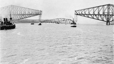 Photo of Разрушение моста в Квебеке, Канада