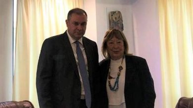 Photo of ՀՀ դեսպանի հանդիպումը Հունաստանի խորհրդարանի՝ Հունաստան-Հայաստան միջխորհրդարանական բարեկամության խմբի նախագահի հետ