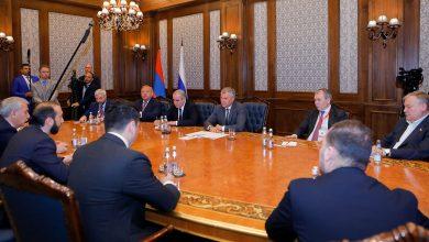 Photo of ՀՀ ԱԺ նախագահ Արարատ Միրզոյանը հանդիպել է ՌԴ Դաշնային ժողովի Պետական դումայի նախագահ Վյաչեսլավ Վոլոդինի հետ