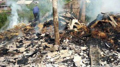 Photo of Հրդեհ է բռնկվել Շիրակի մարզի Անուշավան գյուղի տներից մեկում. ամբողջությամբ այրվել է տան տանիքը
