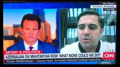 Photo of Մխիթարյանին ասել են, որ Բաքվում չցուցադրի ՀՀ դրոշը. Մելիքբեկյանի հարցազրույցը CNN-ին. armtimes.com