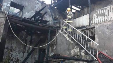 Photo of Մեղրիում հրդեհված երկհարկանի տունը մոխրակույտի է վերածվել
