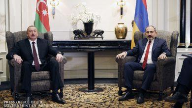 Photo of Краткая беседа Никола Пашиняна и Ильхама Алиева в Брюсселе