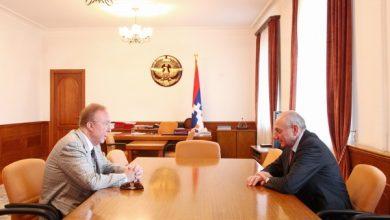 Photo of Встреча с американским благотворителем армянского происхождения Альбертом Бояджяном