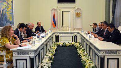Photo of Արթուր Դավթյանը ԵԽ պատվիրակության հետ քննարկել է Հայաստանում հակակոռուպցիոն պայքարի և դատաիրավական ոլորտի բարեփոխումները