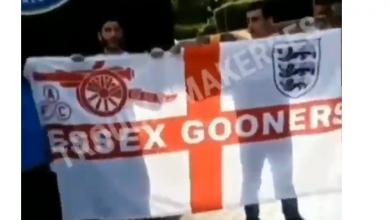 Photo of В Баку у болельщиков «Арсенала» украли флаг