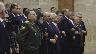 Photo of Ես Սերժի Սարգսյանի կողքին կանգնած չէի, նրա ձեռքը չեմ սեղմել. Արմեն Գրիգորյան